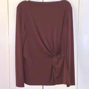 Never Worn Ann Taylor Shirt, wine color